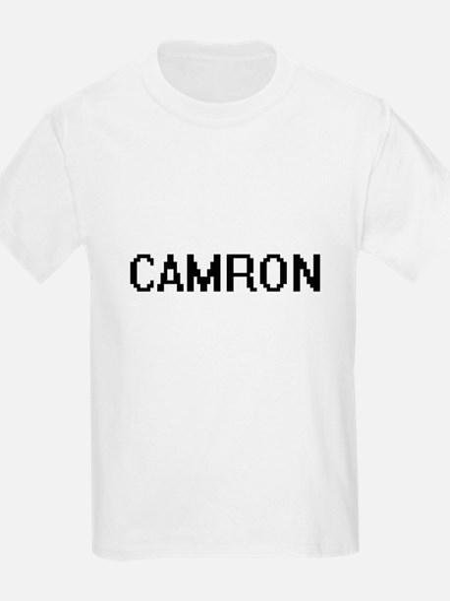 Camron Digital Name Design T-Shirt