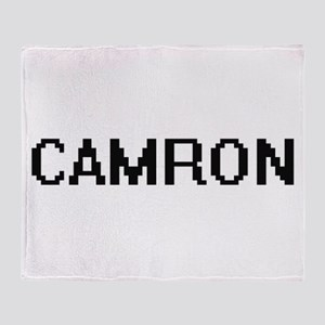 Camron Digital Name Design Throw Blanket