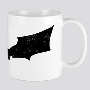 Distressed Bat Silhouette Mugs
