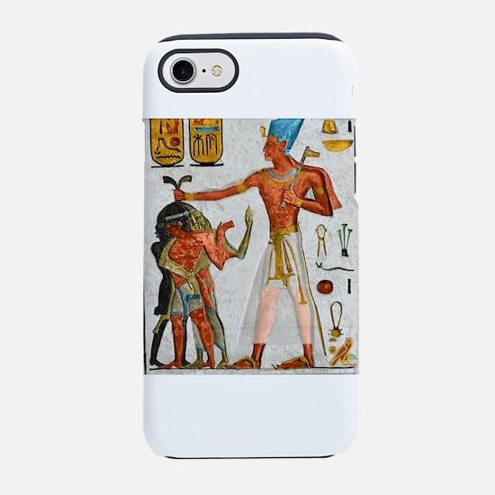 Ramesses Smiting Enemies Iphone 7 Tough Case