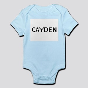 Cayden Digital Name Design Body Suit