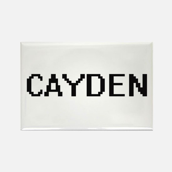 Cayden Digital Name Design Magnets
