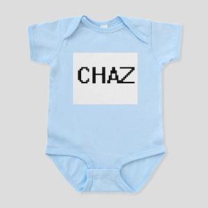Chaz Digital Name Design Body Suit