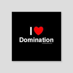 """Domination Square Sticker 3"""" x 3"""""""