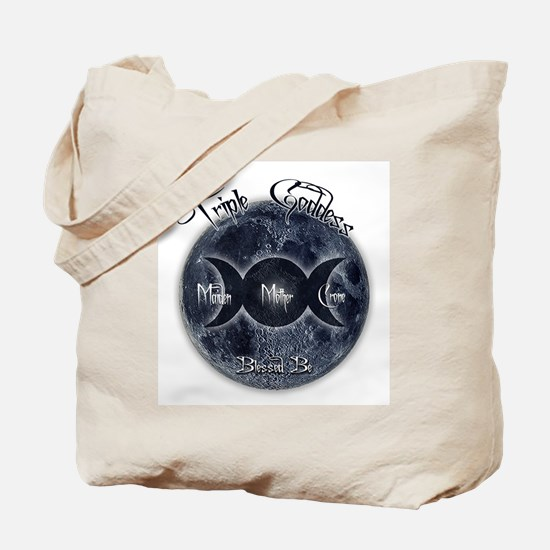 Triple Goddess Tote Bag