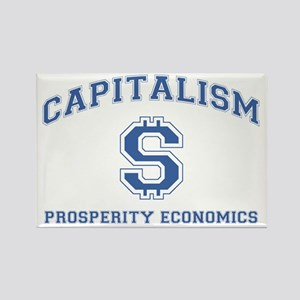 Capitalism: Prosperity Economics Rectangle Magnet