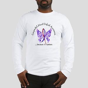 Congenital Heart Defect Butter Long Sleeve T-Shirt