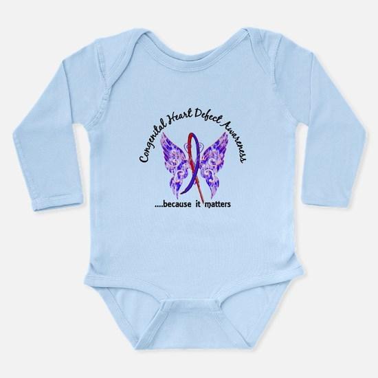 Congenital Heart Defec Long Sleeve Infant Bodysuit