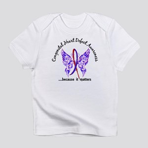 Congenital Heart Defect Butterfly 6 Infant T-Shirt
