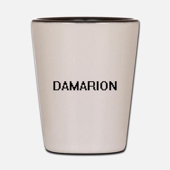 Damarion Digital Name Design Shot Glass