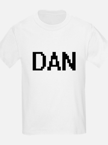 Dan Digital Name Design T-Shirt