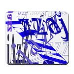 Jazz Blue Mousepad