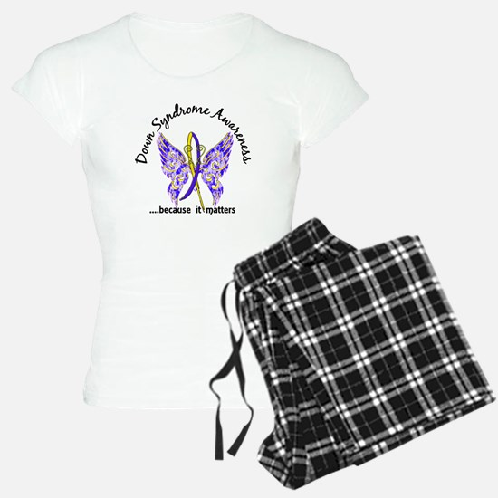 Down Syndrome Butterfly 6.1 Pajamas