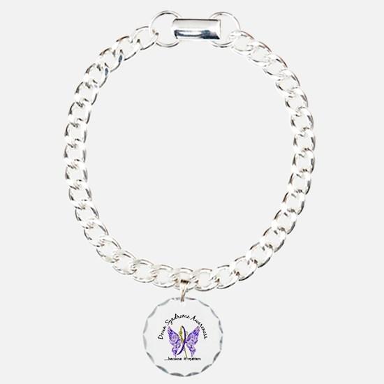 Down Syndrome Butterfly Bracelet