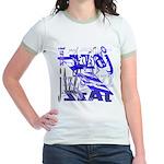 Jazz Blue Jr. Ringer T-Shirt