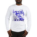 Jazz Blue Long Sleeve T-Shirt
