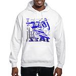 Jazz Blue Hooded Sweatshirt