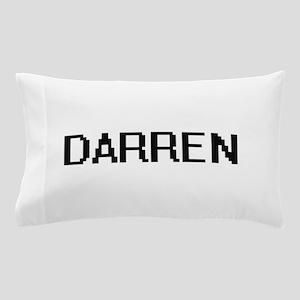Darren Digital Name Design Pillow Case