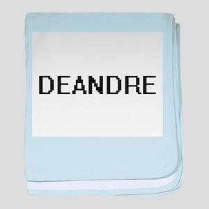 Deandre Digital Name Design baby blanket