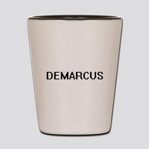 Demarcus Digital Name Design Shot Glass