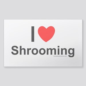 Shrooming Sticker (Rectangle)