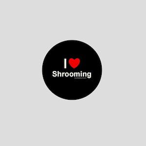Shrooming Mini Button