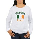 Irish Grils Rock Women's Long Sleeve T-Shirt