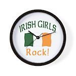 Irish Grils Rock Wall Clock