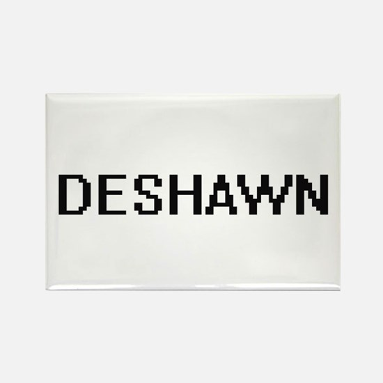 Deshawn Digital Name Design Magnets