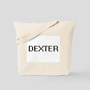 Dexter Digital Name Design Tote Bag
