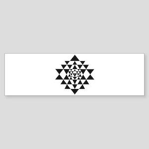 Sri Yantra Bumper Sticker