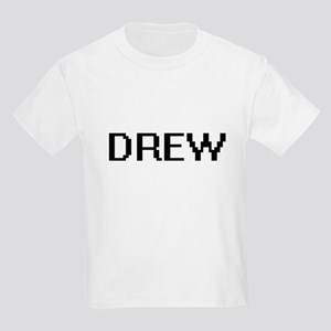 Drew Digital Name Design T-Shirt