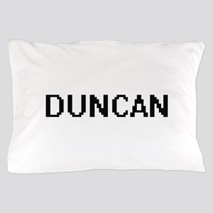 Duncan Digital Name Design Pillow Case