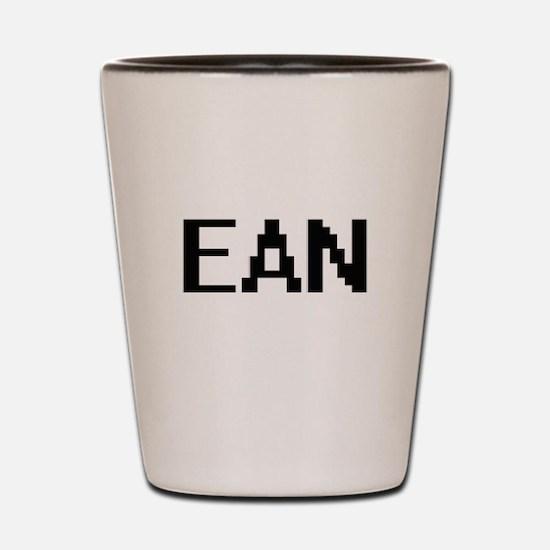 Ean Digital Name Design Shot Glass