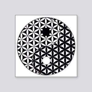 Yin Yang Flower of Life Sticker