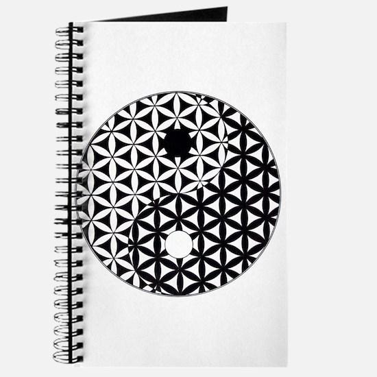 Yin Yang Flower of Life Journal