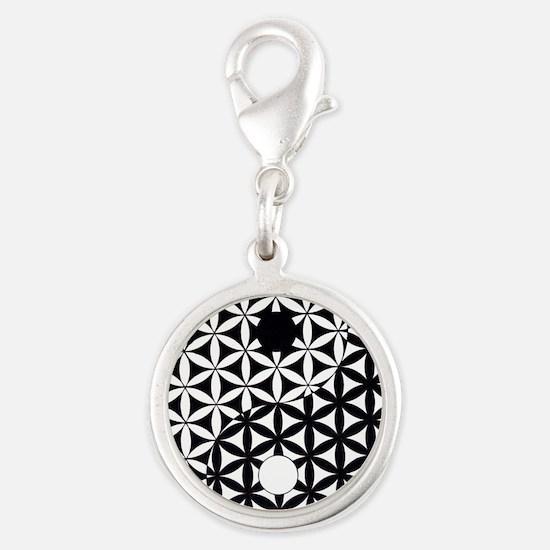 Yin Yang Flower of Life Charms
