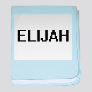 Elijah Digital Name Design baby blanket