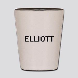 Elliott Digital Name Design Shot Glass