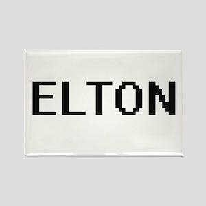 Elton Digital Name Design Magnets