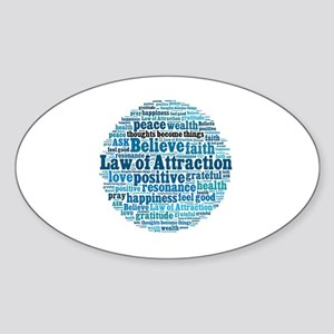 Law of Attraction Sticker