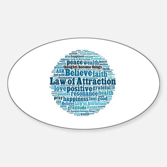 Law of Attraction Decal
