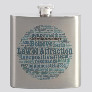 Law of Attraction Flask