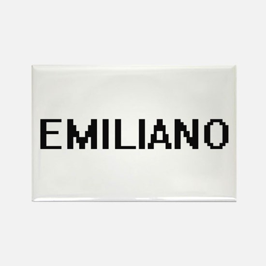 Emiliano Digital Name Design Magnets