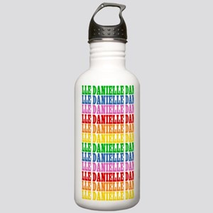 Rainbow Name Pattern Stainless Water Bottle 1.0L