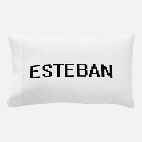 Esteban Digital Name Design Pillow Case