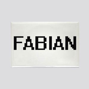 Fabian Digital Name Design Magnets