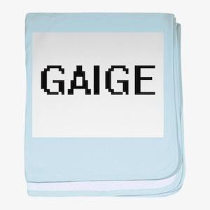 Gaige Digital Name Design baby blanket