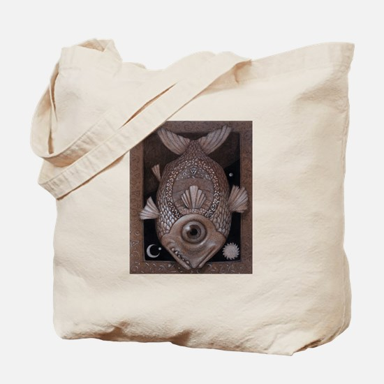 """""""Cyclops Fish"""" Tote Bag"""
