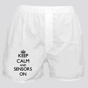 Keep Calm and Sensors ON Boxer Shorts